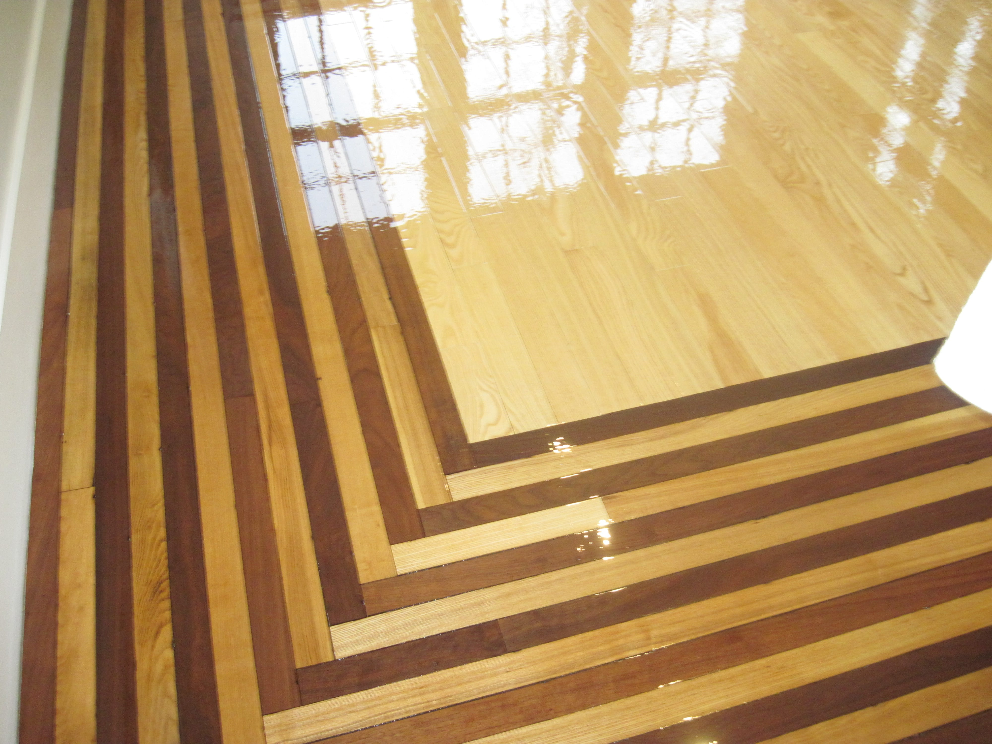 Walnut-Cherry-Maple-Medallion -Hardwood-Medallion -Medford-MA