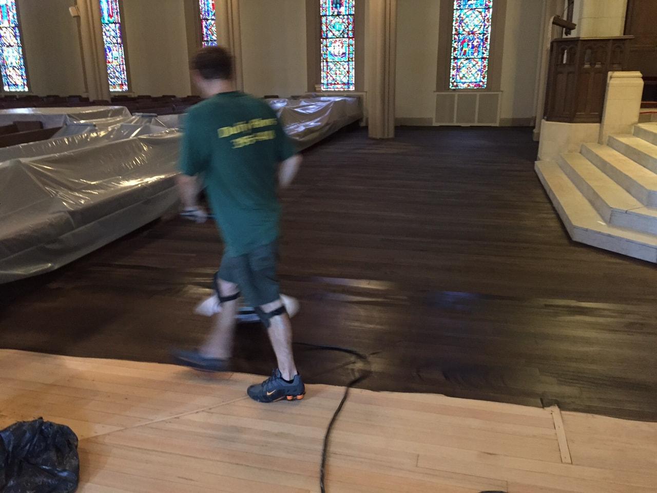 Dye Hardwood Flooring Medford MA 1-min