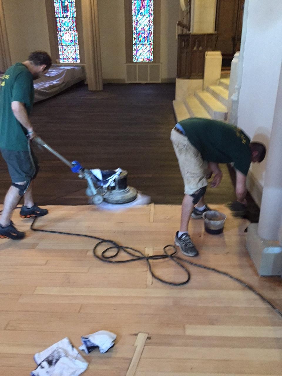 Dye Hardwood Flooring Medford MA 3-min