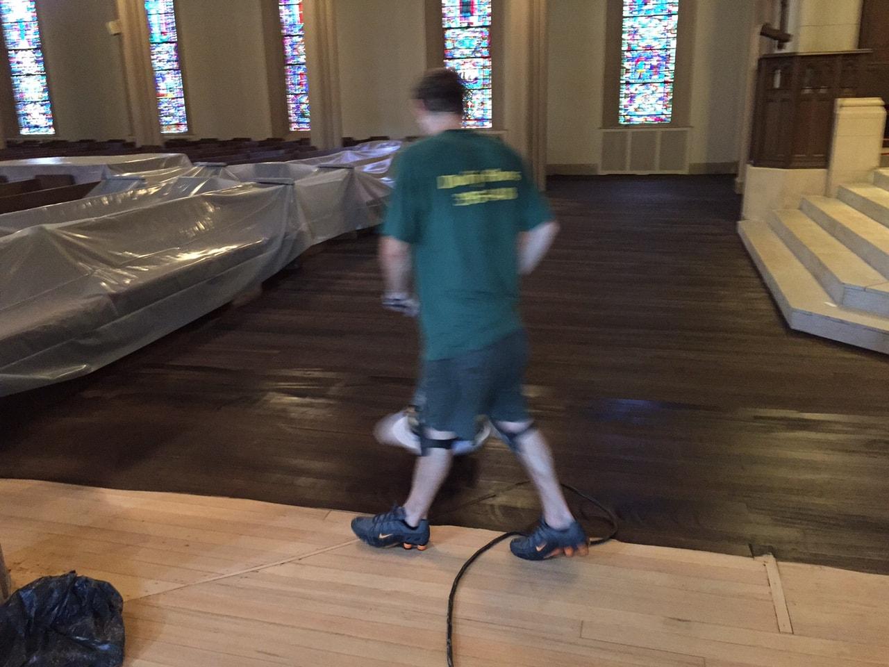 Dye Hardwood Flooring Medford MA 4-min