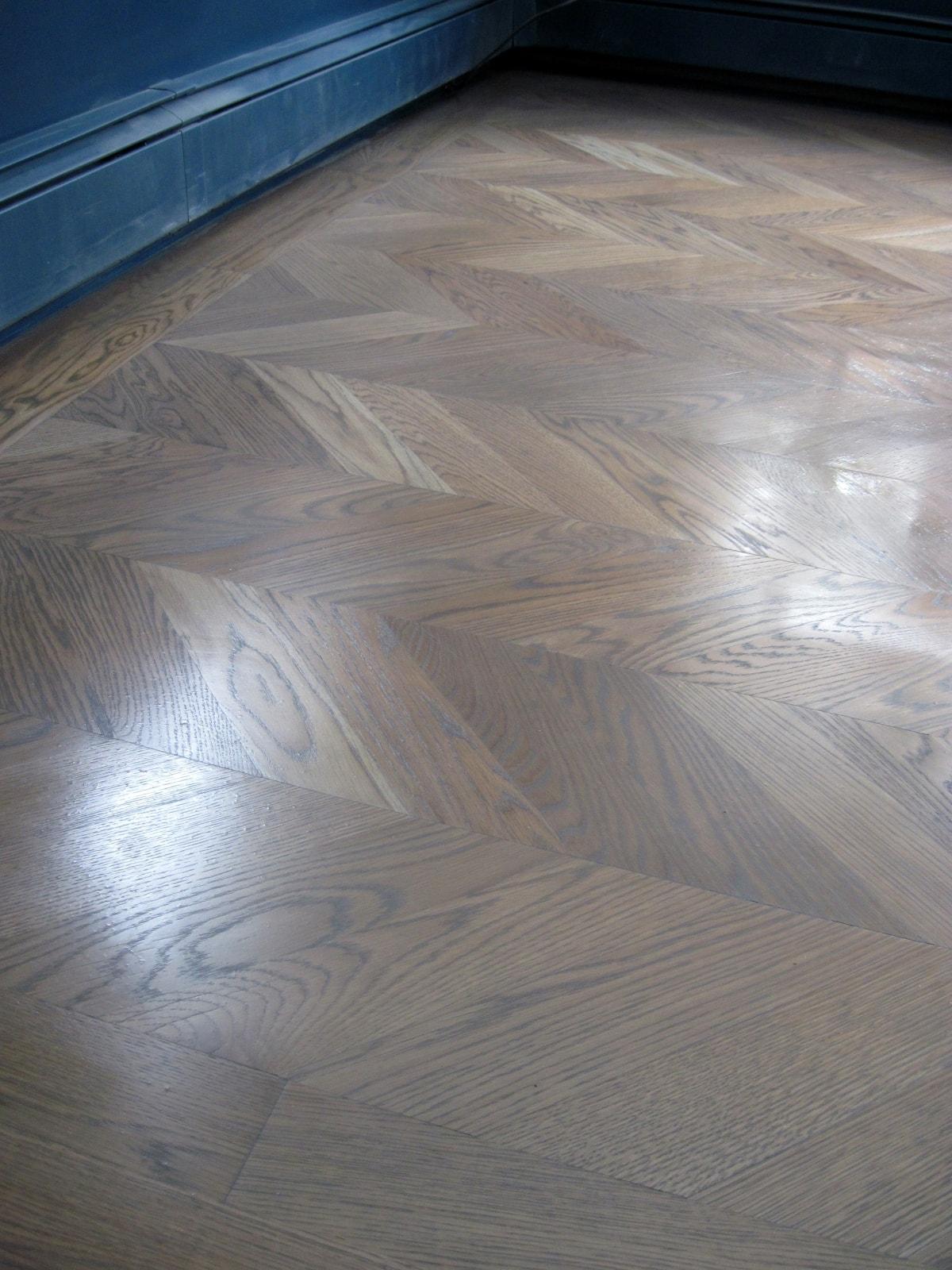 Grey Stain Hardwood Flooring Medford MA 2-min