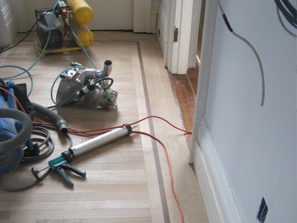 Hardwood Install Over Radiant Heat Medford MA 1-min