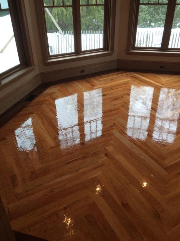 Herringbone Hardwood Flooring Medford MA 11-min