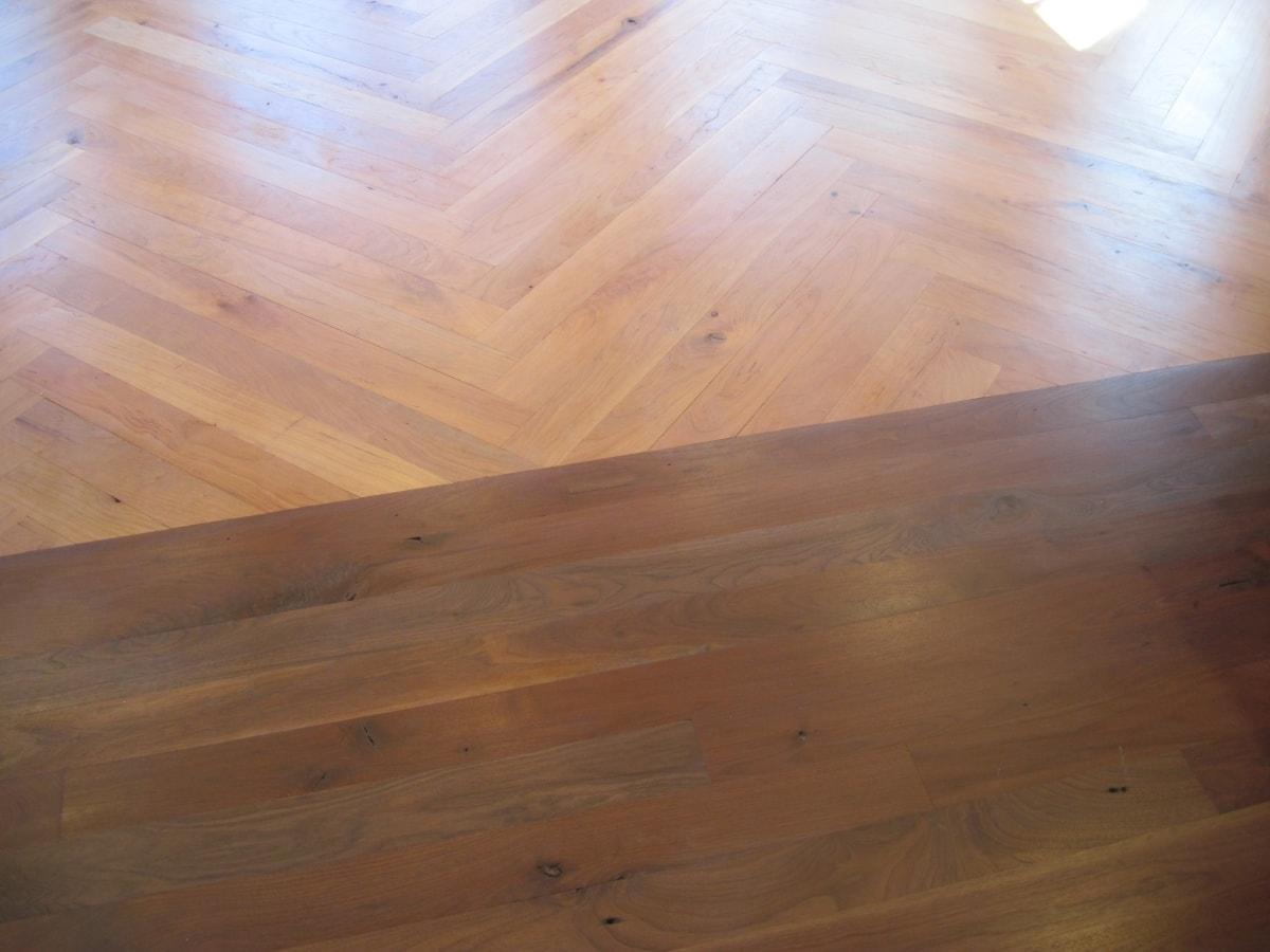 Herringbone Hardwood Flooring Medford MA 14-min