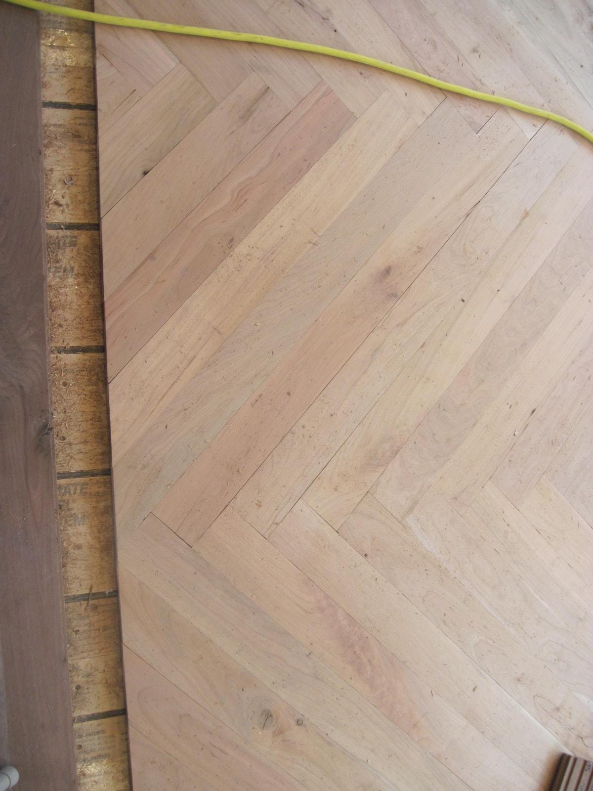 Herringbone Hardwood Flooring Medford MA 16-min