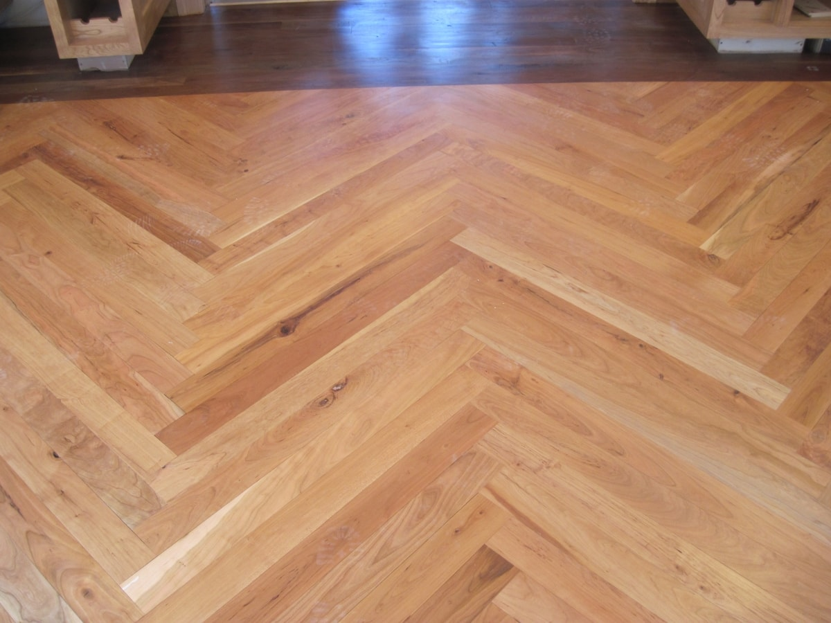 Herringbone Hardwood Flooring Medford MA 3-min