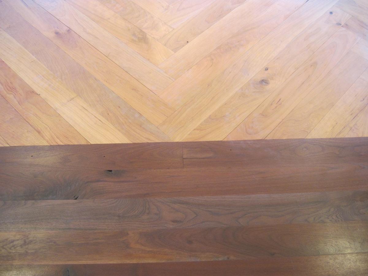 Herringbone Hardwood Flooring Medford MA 5-min
