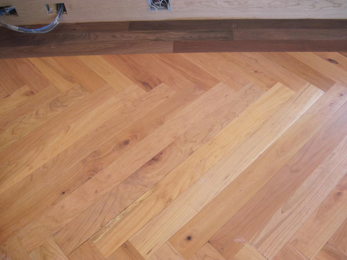 Herringbone Hardwood Flooring Medford MA 7-min