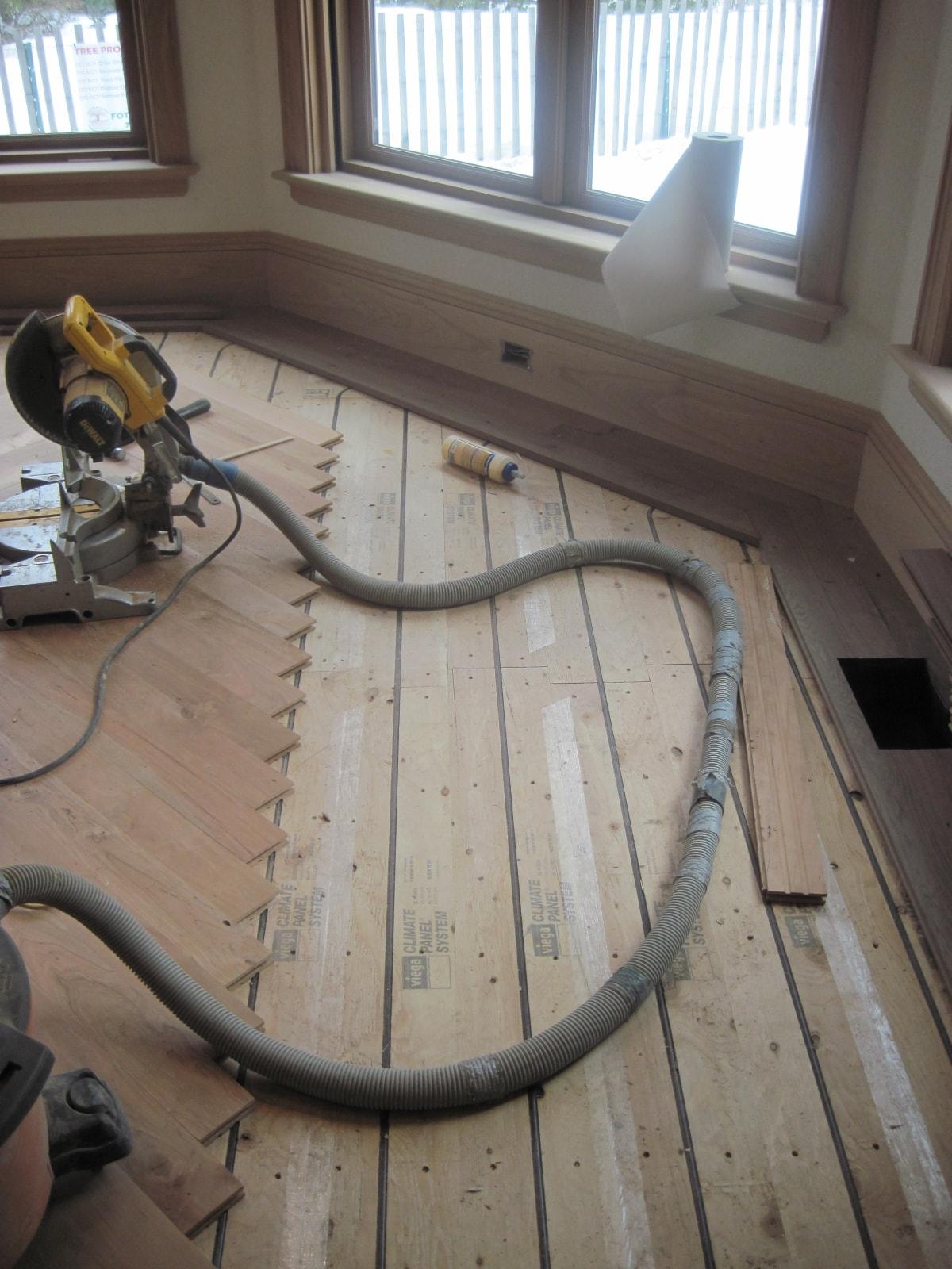 Herringbone Hardwood Flooring Medford MA 8-min