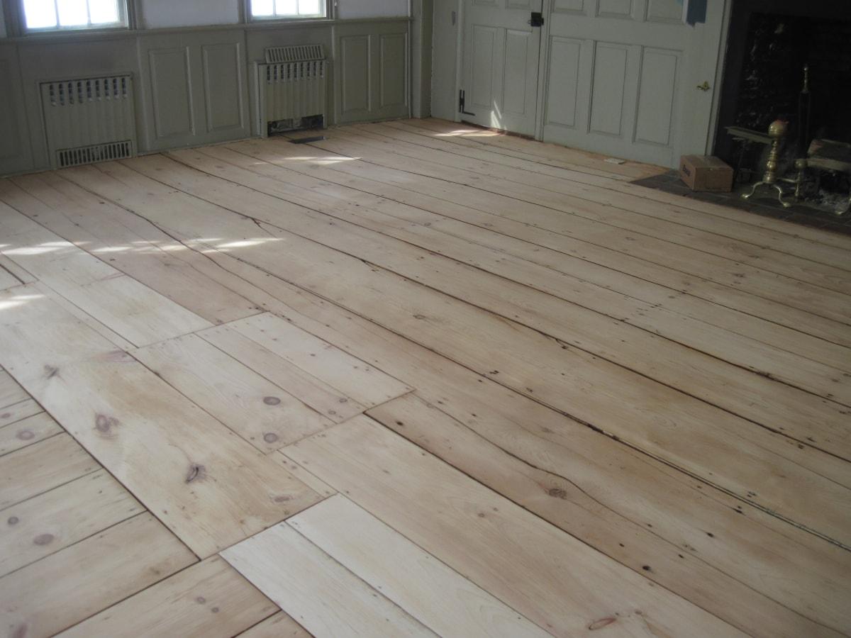Pine Flooring Sanded Medford MA 1-min