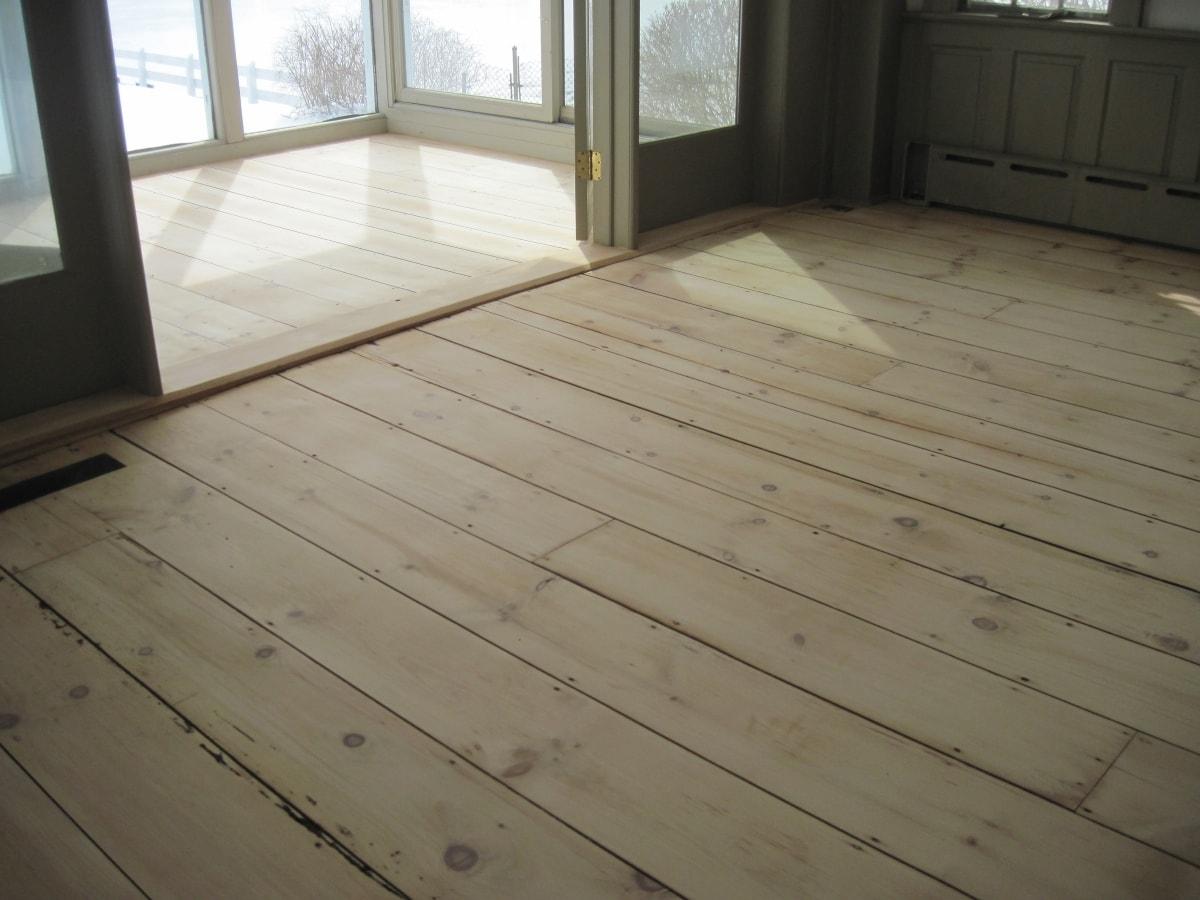 Pine Flooring Sanded Medford MA 2-min