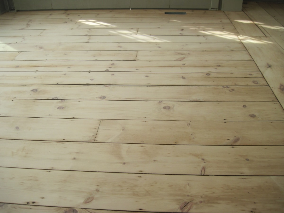Pine Flooring Sanded Medford MA 4-min