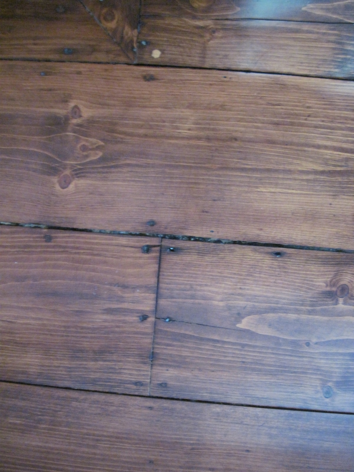 Pine Stained Flooring Medford MA 3-min