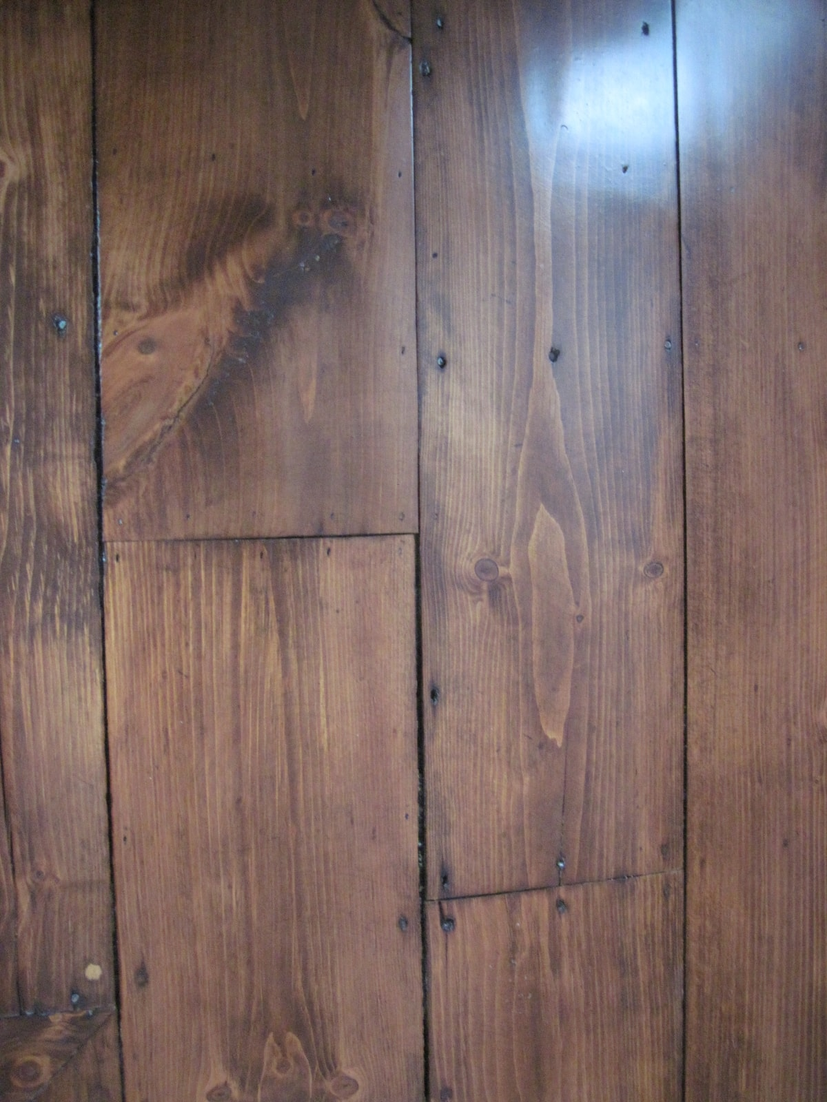 Pine Stained Flooring Medford MA 4-min