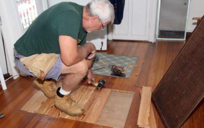 Repairing 100 Year Old Wood Floors