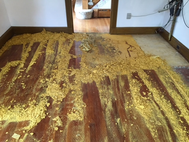 Rug Pad on Wood Floor Medford MA 2-min