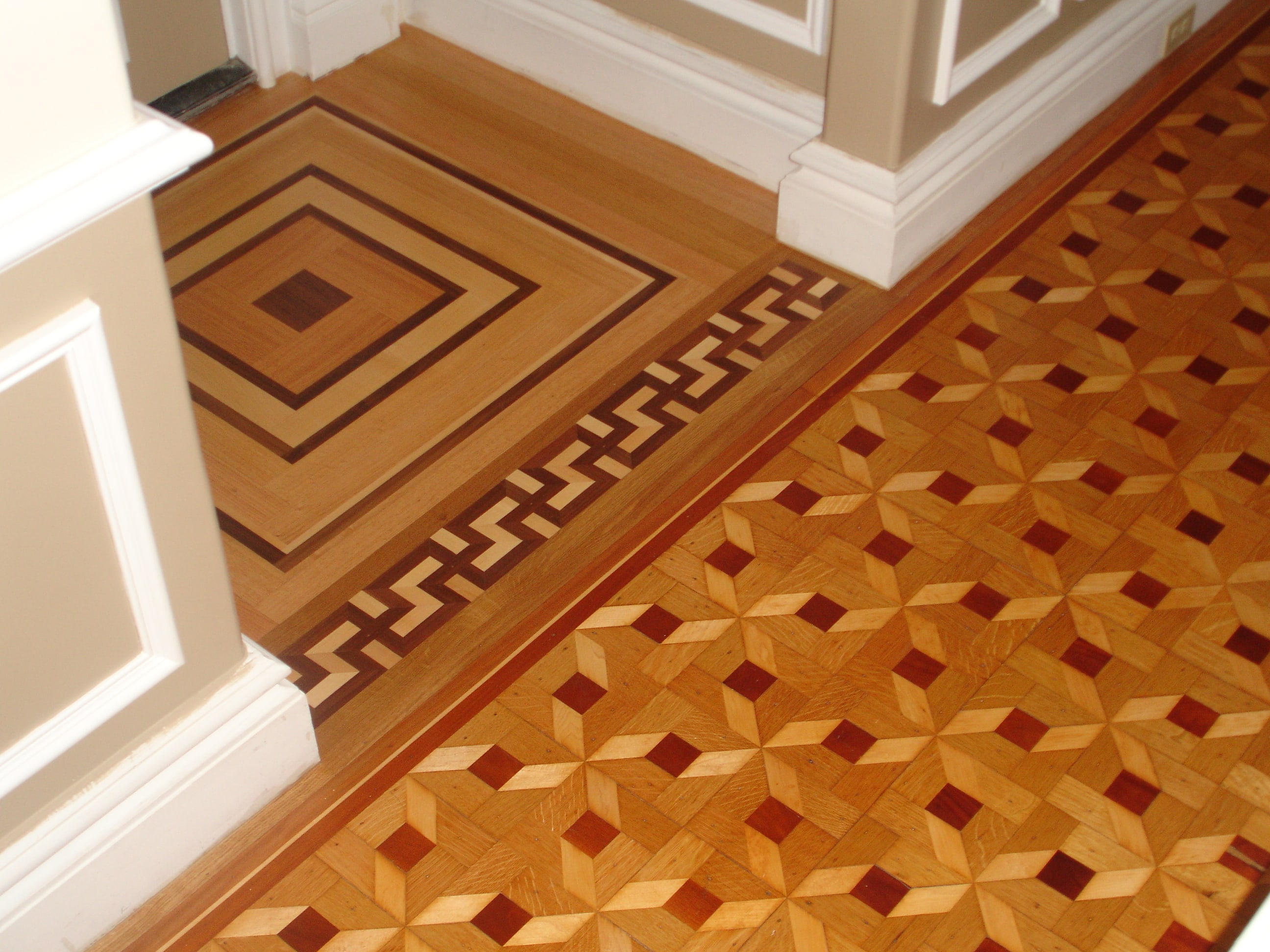 Custom-made-Duck-Hardwood-Medallion -Medford-MA