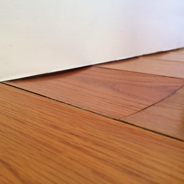 Water Damaged Wood Floors